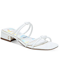 Circus by Sam Edelman Jay Block-Heel Knotted Sandals