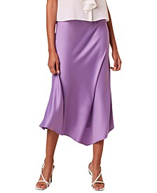 Draped Asymmetrical Skirt