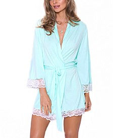 Women's Alluring Knit Ultra Soft Robe, Online Only