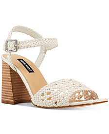 Nine West Gwenny Woven City Sandals