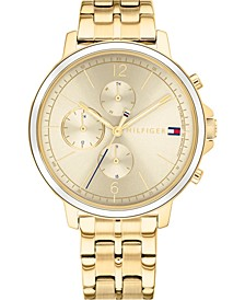Women's Gold-Tone Stainless Steel Bracelet Watch 38mm