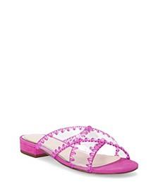Cabrie Flat Sandals