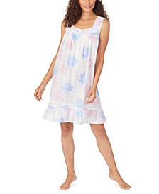 Cotton Swiss Dot Nightgown