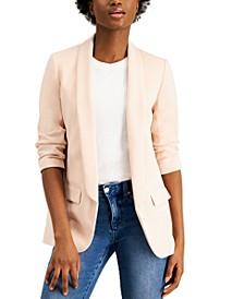 Ruched Boyfriend Blazer, Created for Macy's