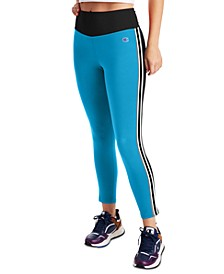 Women's Double Dry Striped High-Waist Leggings