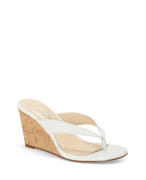 Jessica Simpson Coyrie Thong Wedge Sandals