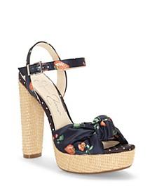 Ivrey Knot Platform Sandals
