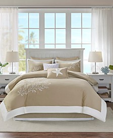 Coastline 6-Pc. California King Comforter Set