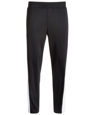 Id Ideology Men's Side-Stripe Track Pants, Created for Macy's