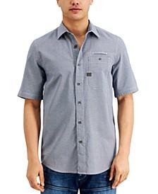 Men's Regular-Fit Houndstooth Shirt