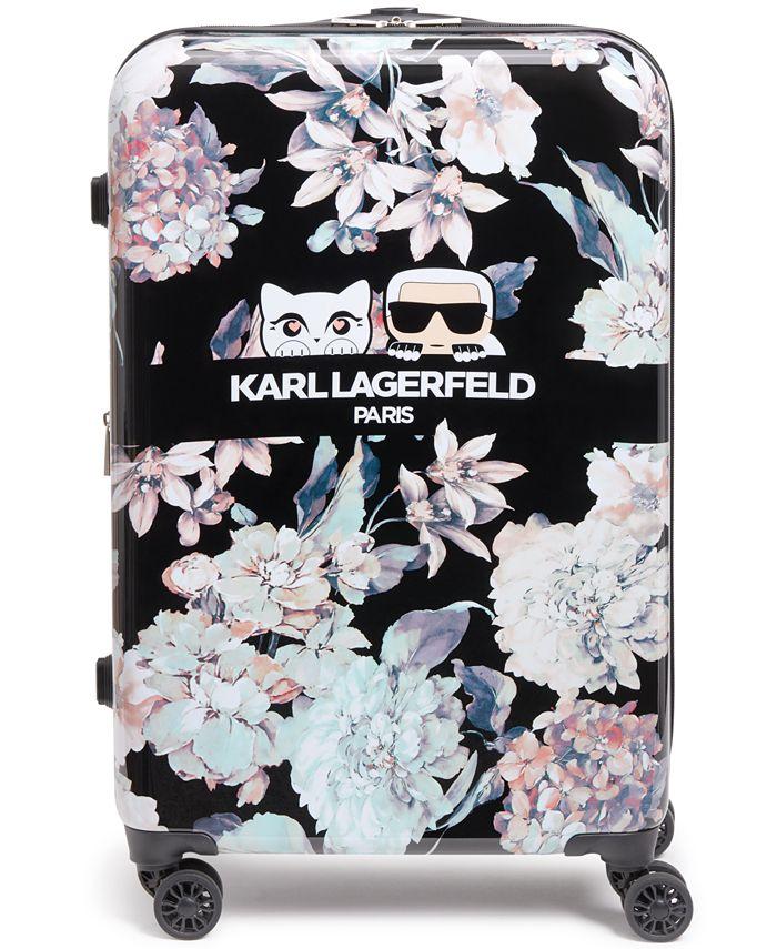 """Karl Lagerfeld Paris - Karl Lagefeld 25"""" Hardside Spinner"""