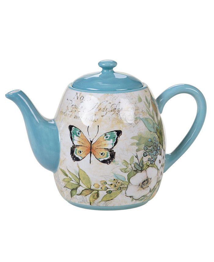 Certified International - Nature Garden Teapot