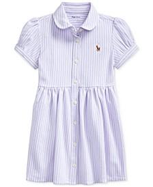 폴로 랄프로렌 여아용 옥스포드 원피스 Polo Ralph Lauren Baby Girls Striped Knit Oxford Dress