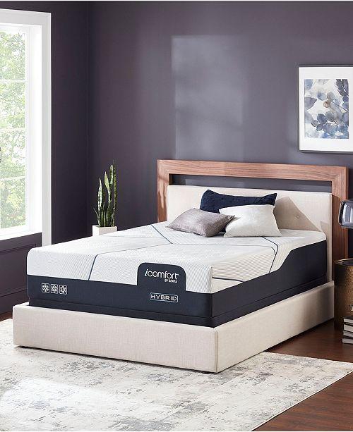 "Serta iComfort CF 4000 14"" Hybrid Plush Mattress Set - Queen"