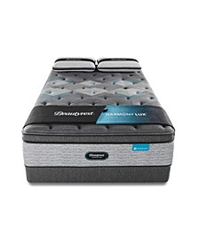 "Harmony Lux Diamond 17.5"" Plush Pillow Top Mattress Set - King"