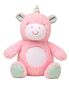 Unicorn Music and Glow Soother Plush Toy