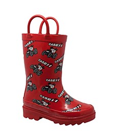 Toddler Boys and Girls Big Rubber Boots
