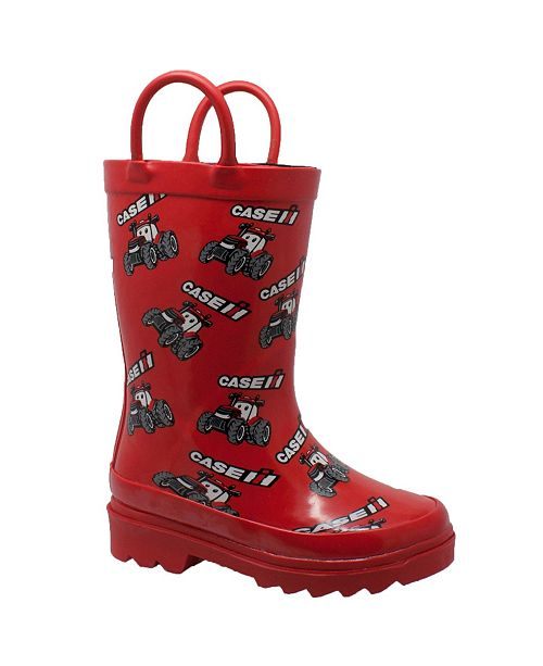 Case IH Toddler Boys and Girls Big Rubber Boots