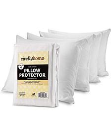 Pillow Protectors, Standard - 4 Pieces