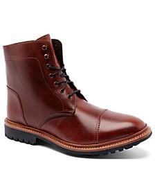 "Men's Ranveer Cap-Toe Rugged 6"" Lace-Up Boots"