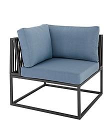 Outdoor Modern Modular Patio Corner Chair