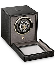Black Vegan Leather Watch Winder
