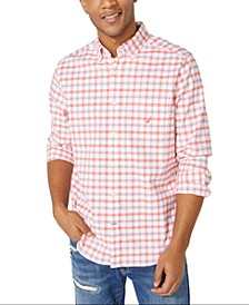 Men's Big & Tall Oxford Plaid Shirt