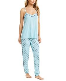 Printed Tank Top Pajama Set, Created for Macy's