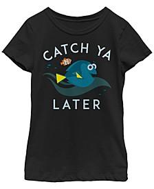 Big Girls Finding Dory Nice Catch Short Sleeve T-shirt