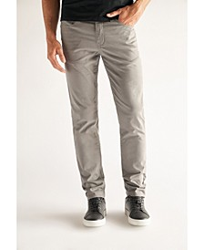 Men's Slim Fit Performance Stretch Denim Jeans, Grey Wash