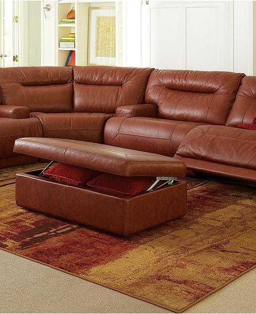 Ricardo Leather Reclining Sofa Used Ricardo Italian