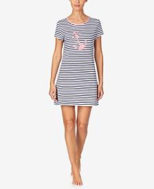 Women's Anchor Sleepshirt Nightgown, Online Only
