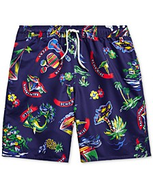 Big Boys Captiva Tropical Swim Trunks