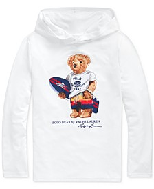 Big Boys Surfer Bear Hooded Rash Guard