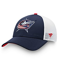 Columbus Blue Jackets Authentic Pro Rinkside Trucker Cap