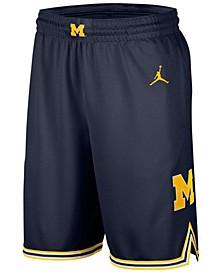 Men's Michigan Wolverines Replica Basketball Road Shorts