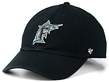Florida Marlins Cooperstown CLEAN UP Cap