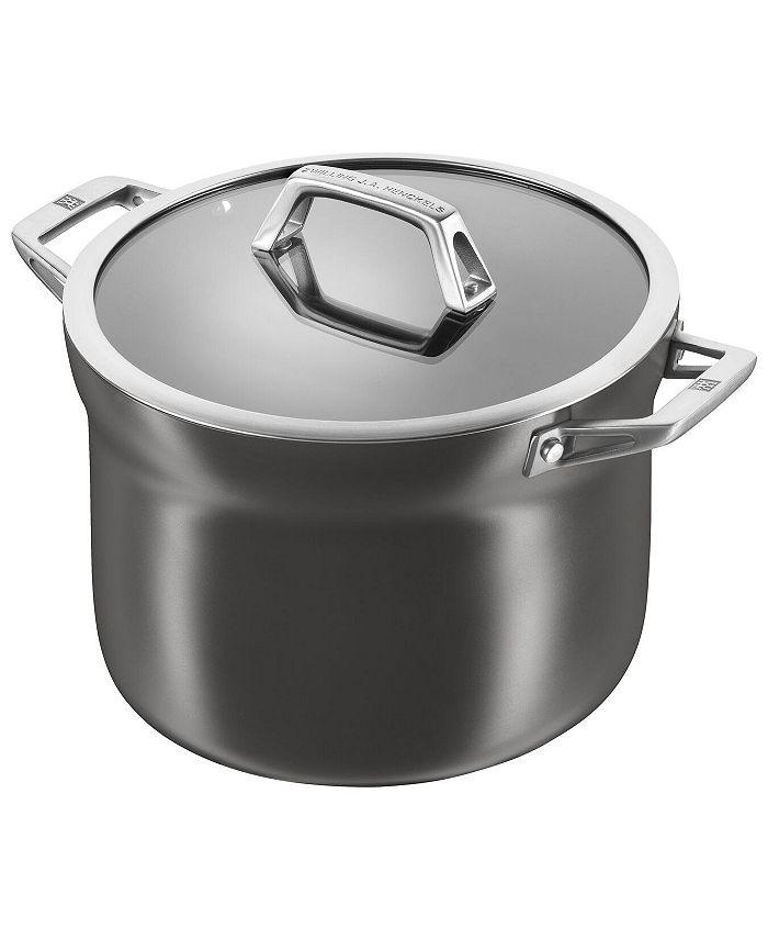 J.A. Henckels - Zwilling  Motion Aluminum Hard Anodized Nonstick 4-Qt. Soup Pot