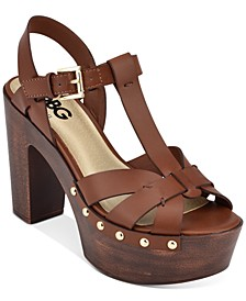 Jinnie Rio Maple Platform Sandals