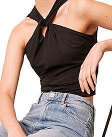 Panthea Jersey Halter Top