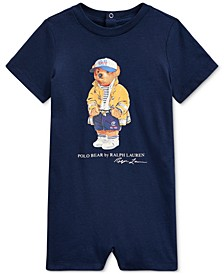 Baby Boys Polo Bear Cotton Jersey Shortall