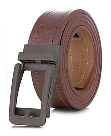 Men's Rugged Leather Linxx Designer Ratchet Belt