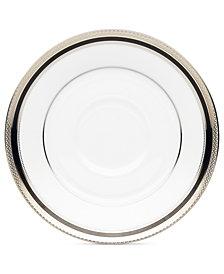 Noritake Dinnerware, Austin Platinum Saucer