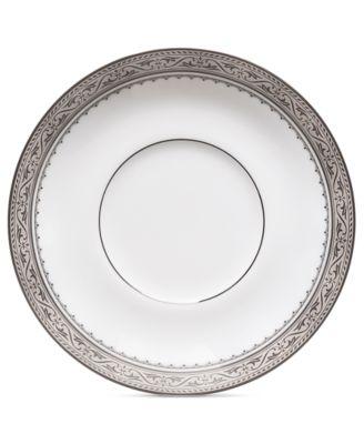 Dinnerware, Odessa Platinum Saucer