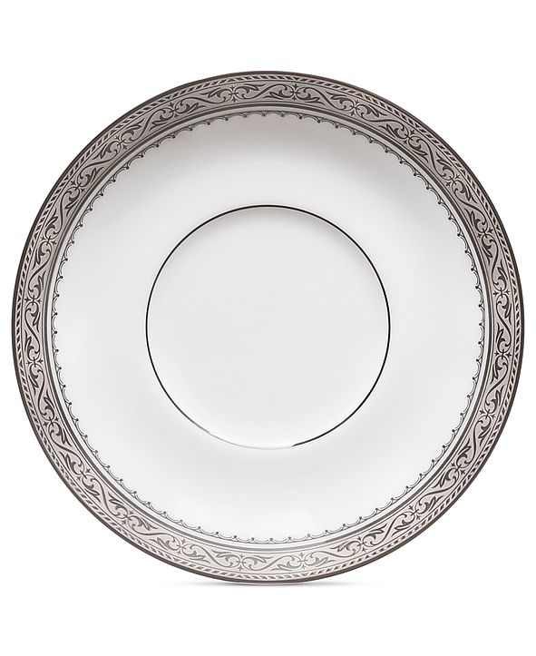 Noritake Dinnerware, Odessa Platinum Saucer