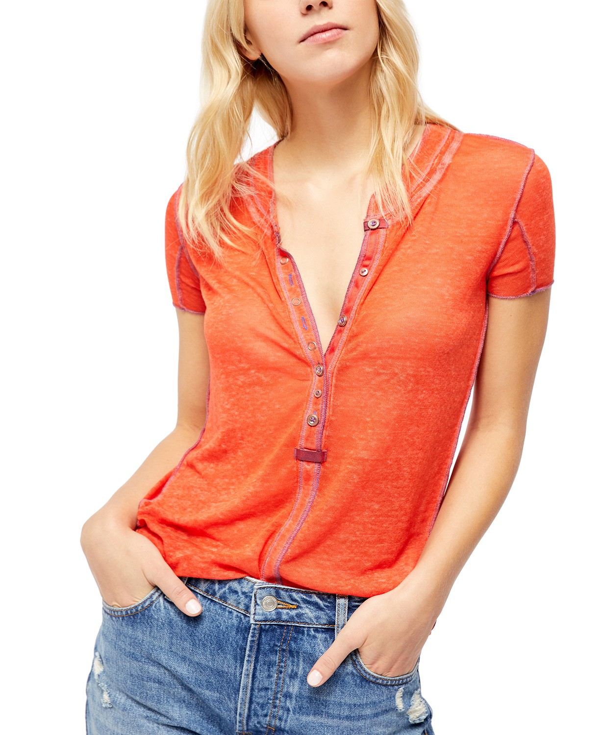 Free People Kia Henley T-Shirt