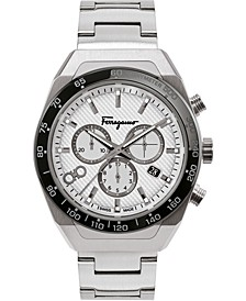Men's Swiss SLX Chronograph Stainless Steel Bracelet Watch 43mm