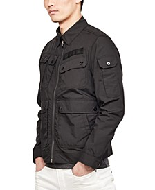 Men's ARC 3-D Slim-Fit Bomber Jacket, Created for Macy's