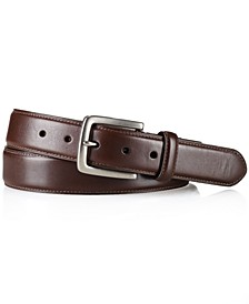 Belt, Edge-Stitched Leather Belt