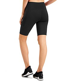 Side-Pocket Bike Shorts, Created for Macy's